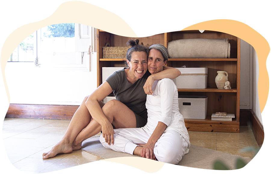 Imma Campos y Mariona Ventura
